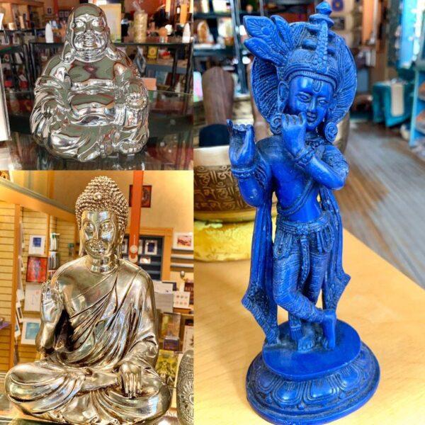 BlueBuddha statues